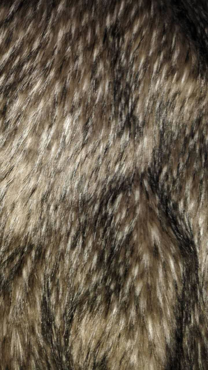 Knitted Long Pile Fur Fabric
