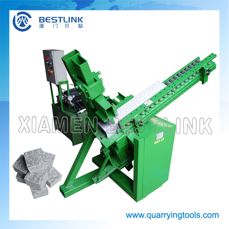 Ms3-10V Gravity Feeding Stone Brick Paver Splitting Machine