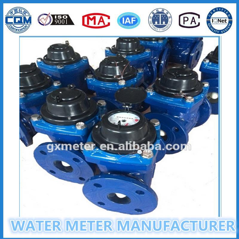Woltman Type Detachable Dry Type Water Meter Lxlc50-600