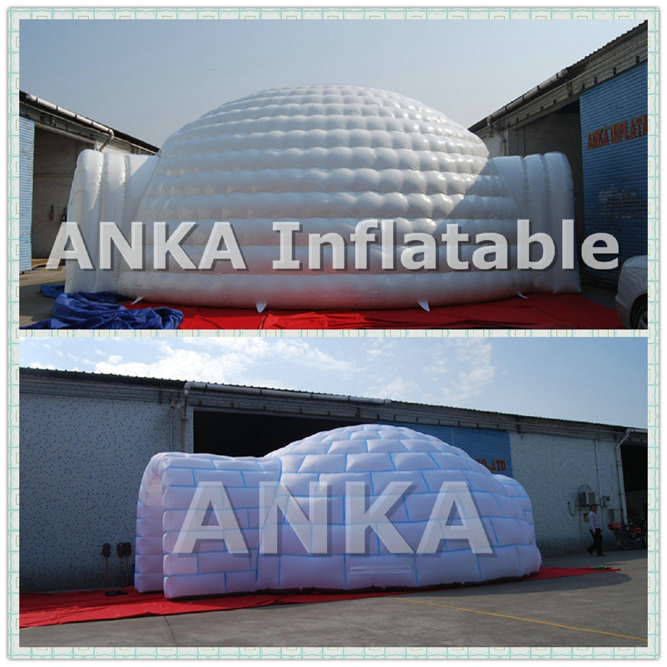 Sewing Giant Igloo Wedding Inflatable Dome Tent