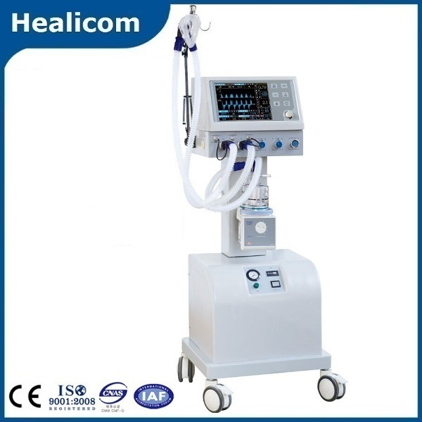 Ce Approved Ventilator Breathing Machine with Air Compressor (HV-400B)