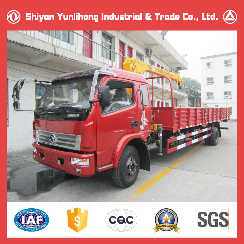 9 Ton Light Truck with Crane 3 Ton