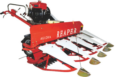 The Reaper Head Fitted on Mini Tiller or Walking Tractor