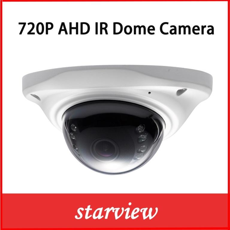 Vandal-Proof 1.0MP 720p Ahd IR Mini Dome CCTV Camera