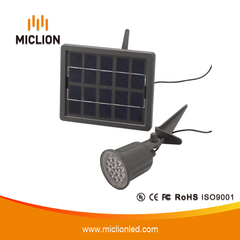 1W Ni-MH IP65 LED Solar Lamp with CE