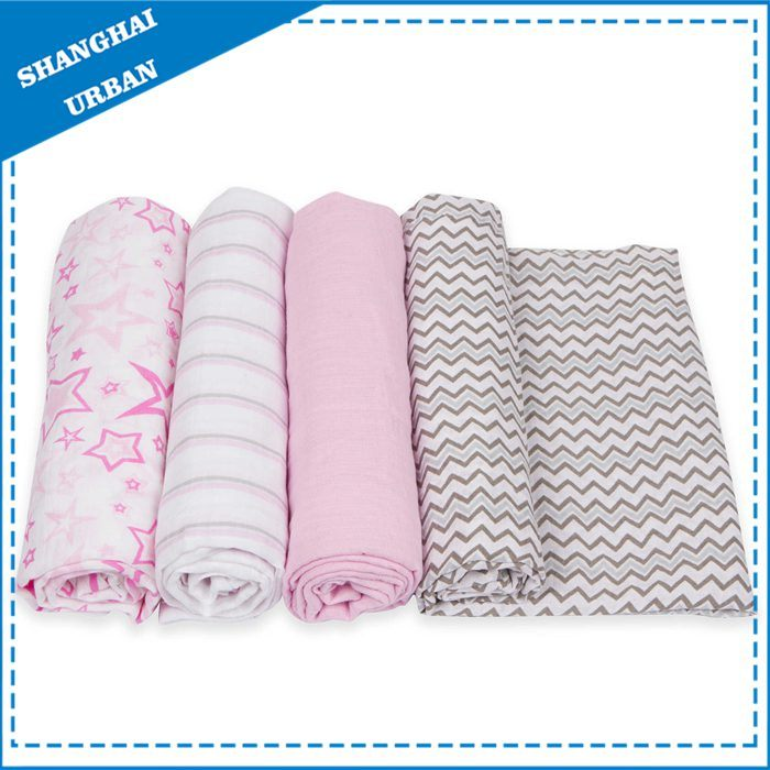 100% Bamboo Muslin Swaddle Blanket
