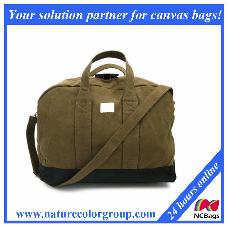 Big Canvas Travel Sport Bag for Men