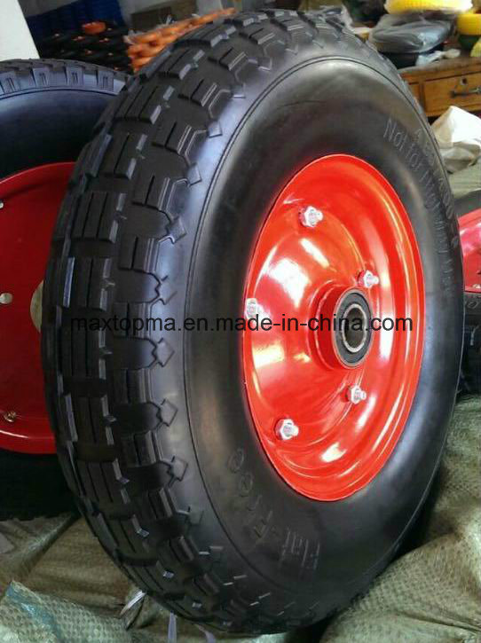 Qingdao Maxtop Factory Wheelbarrow Rubber Wheel