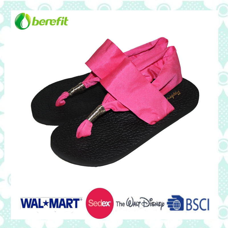 Spandex Upper and EVA Sole, Comfortable Wear Feeling, Sandals