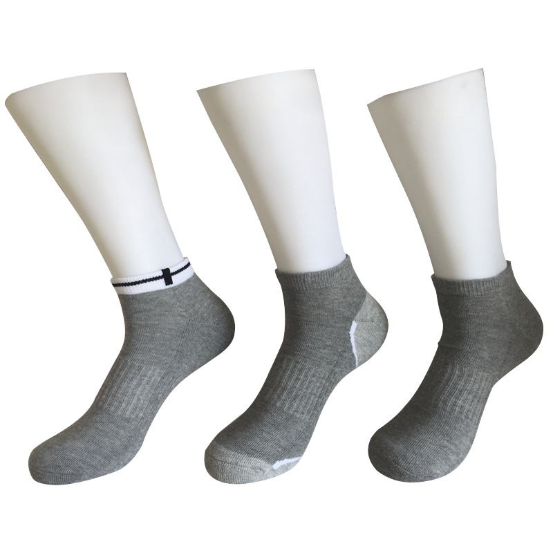 Half Cushion Cotton Fashion Outdoor Sport Ankle Socks (JMCOD05)
