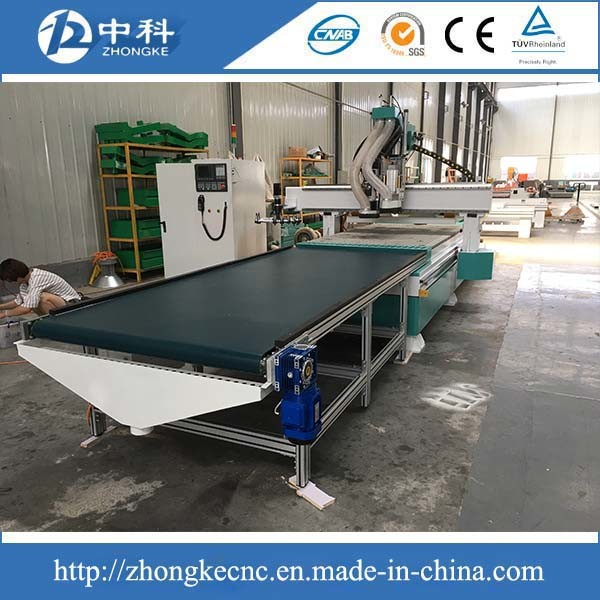 Cabinets Bed Doors CNC Producing Line Wood CNC Router