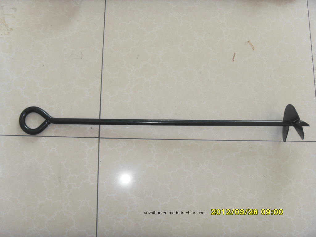 HDG or Powder Coated Ground Anchor, Earth Auger