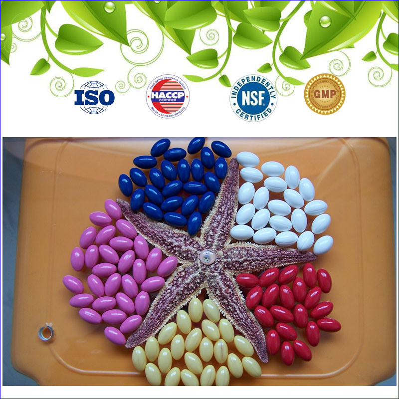 GMP Certified Nutritional Supplement Co Q10 Capsule