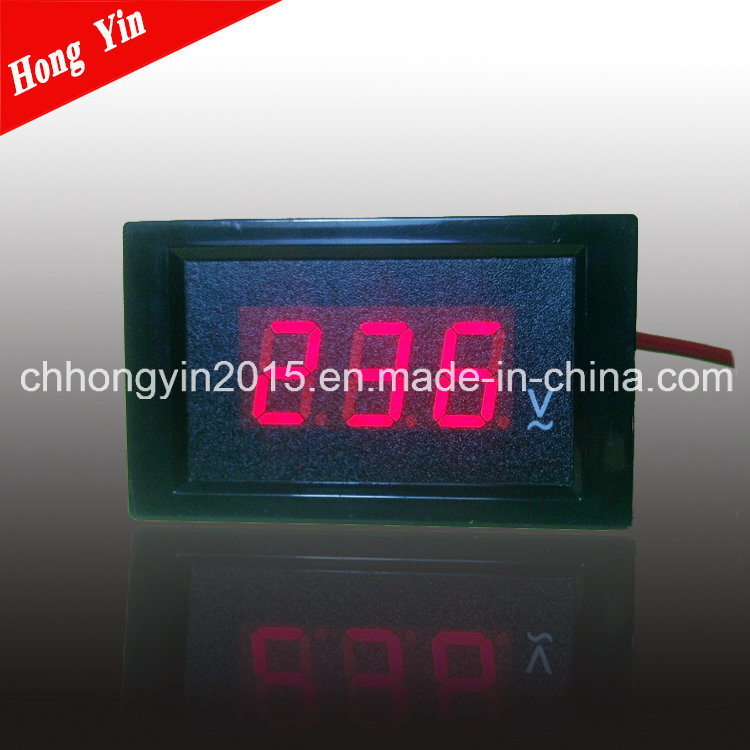 LED AC/DC Display Digital Panel Voltmeter