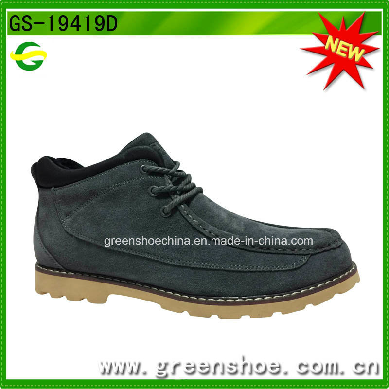 Best Selling Suede Leather Casual Shoes for Men