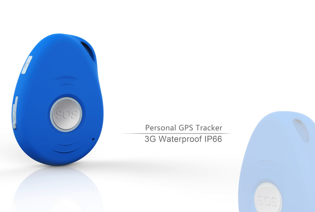 3G Personal GPS Tracker with Waterproof IP67 and Vibration Sensor