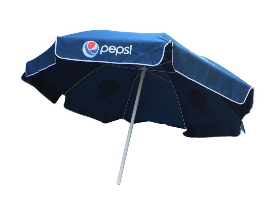 Advertisement UV Anti 210d Polyester Beach Umbrella 48inch