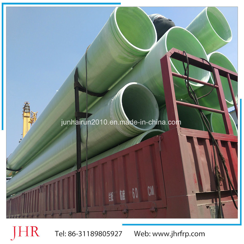 FRP GRP Fiberglass Winding Hollow Pipe