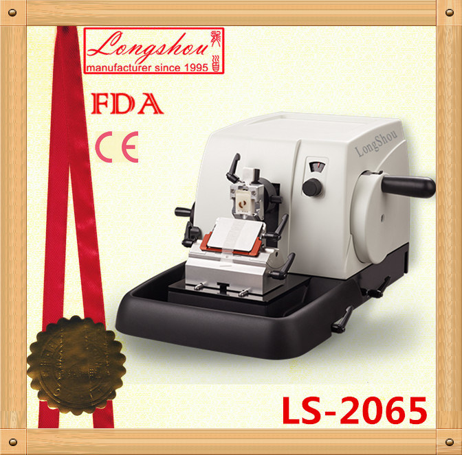 Manual Microtome Ls-2065 with Fast Trimming and Retraction Function