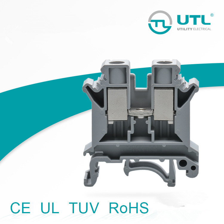 Utl 10mm² DIN Rail Terminal Block with UL Certificate