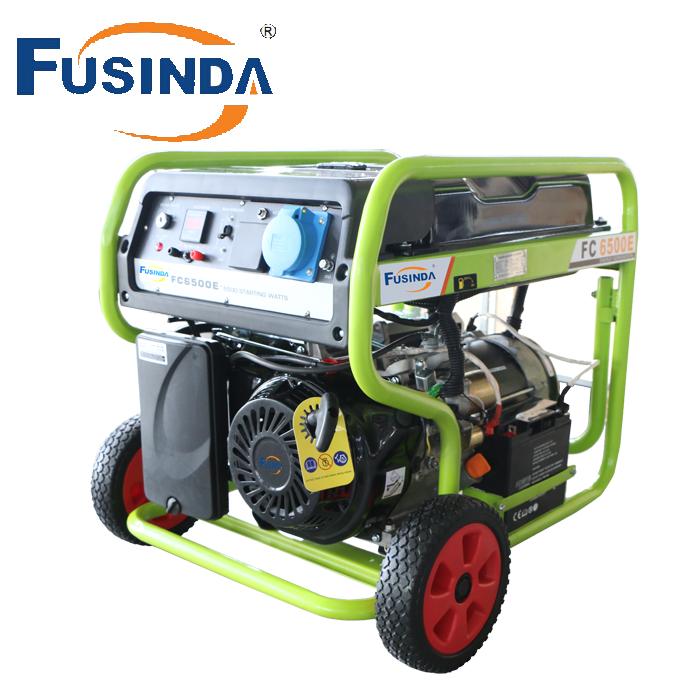 5kw Gasoline Generator with Famous Senci Alternators. 100%Copper (FC6500E)