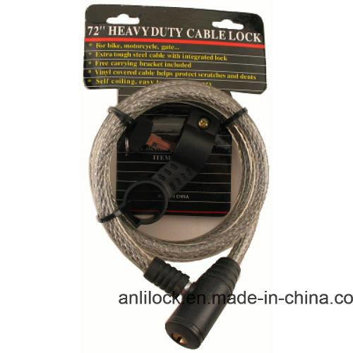 Bike Lock, Cable Lock, Bicycle Lock (AL08901)