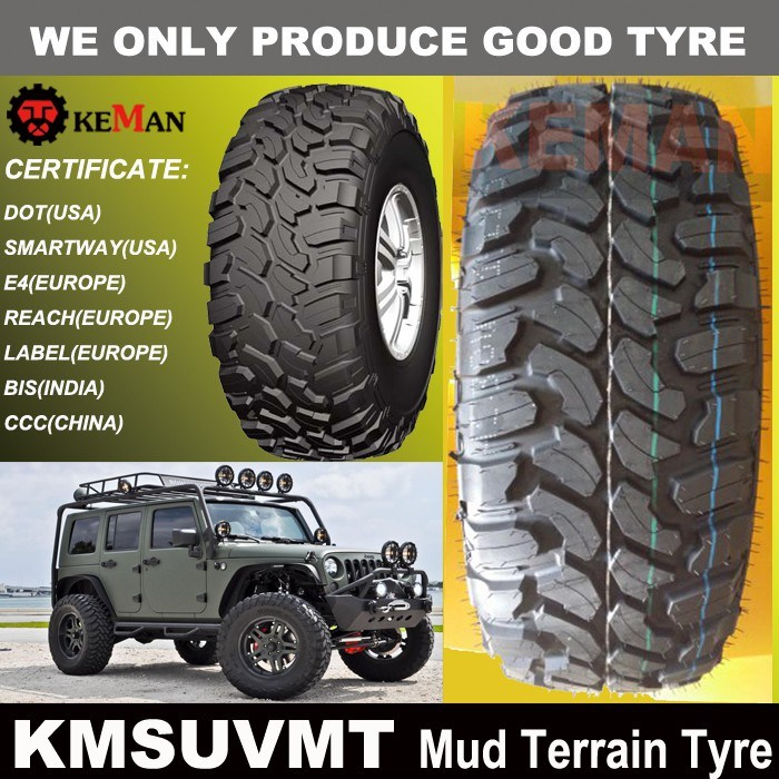 4X4 Tire, Mt Tire, Mud Terrain Tire (KMSUVMT)