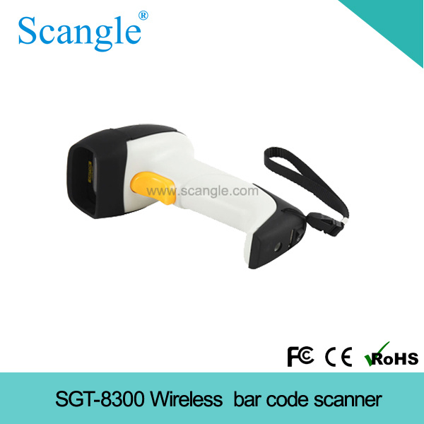Handheld Wireless Laser Barcode Scanner Barcode Reader (SGT-8300)