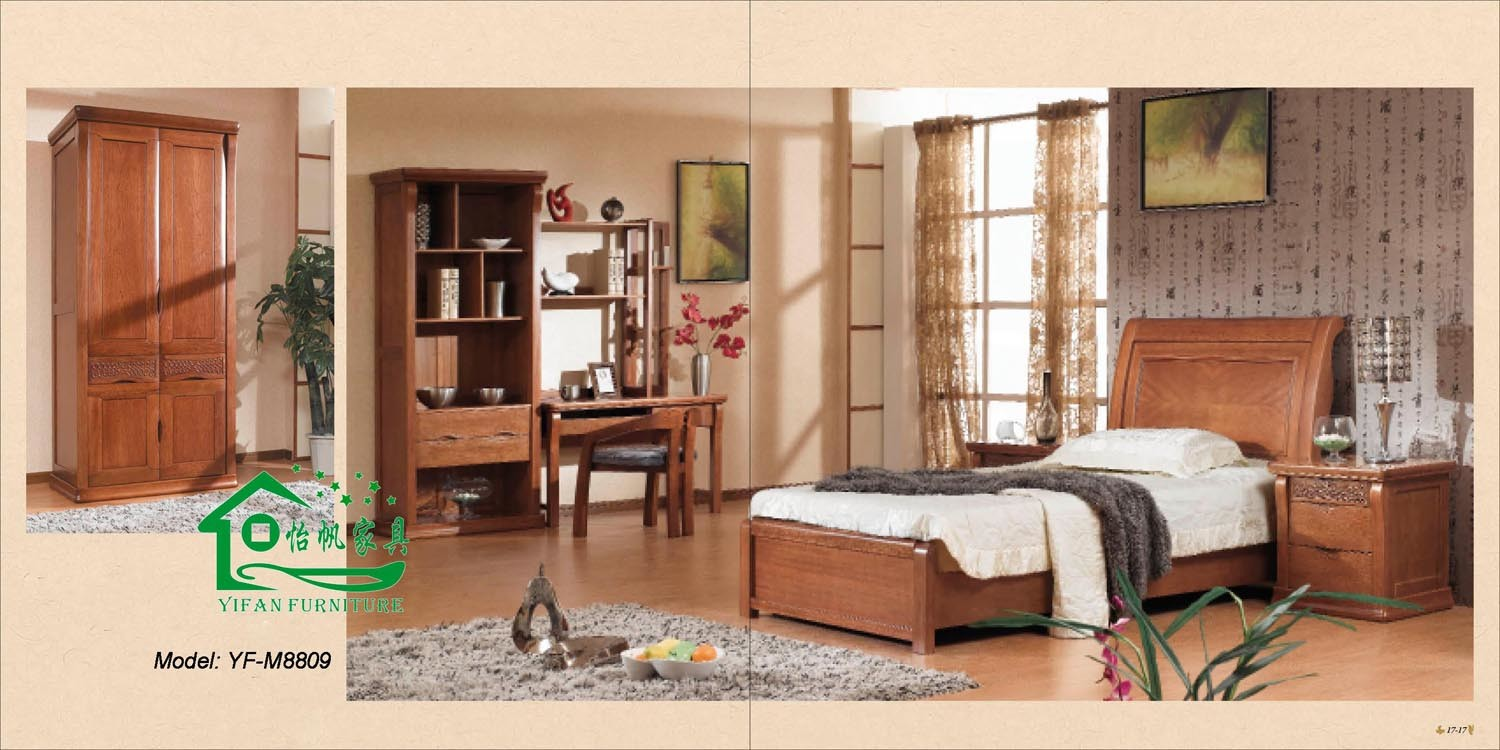 Classical bedroom furniture from china professional for Les chambre a coucher en bois