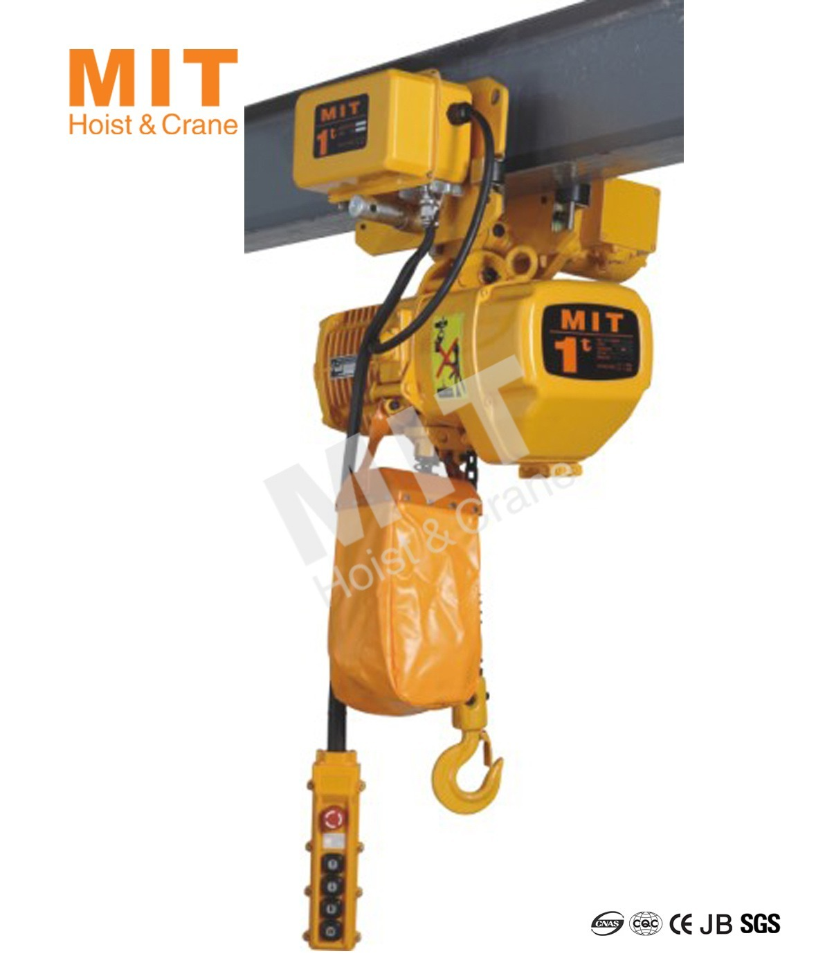 Mit Electric Chain Hoist 1t With Electric Trolley Hhbd01