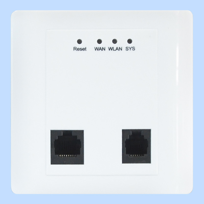 300Mbps in-Wall Panel Wireless Access Point WiFi Cover (TS302F)