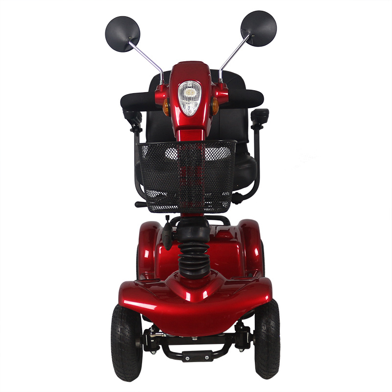 Zvgreen Hot Sales Four Wheels Electric Scooter with Foldable Fuction