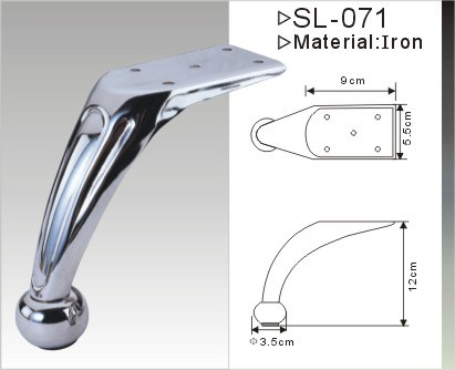 Sofa Leg Footings Furniture Hardware with Top Quality (SL-071)