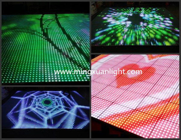 Panels Star Light Portable Sensitive Interactive LED Dance Floor