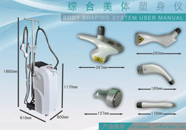 CE Approved Body Shaping Slimming Machine (RM-L8)