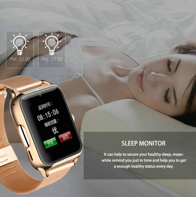 "New Arrival Bluetooth Watch Android Ios Smart Watch, Wrist Watch Z50 Watch, 1.54"" IPS Touch Screen LCD/LED"