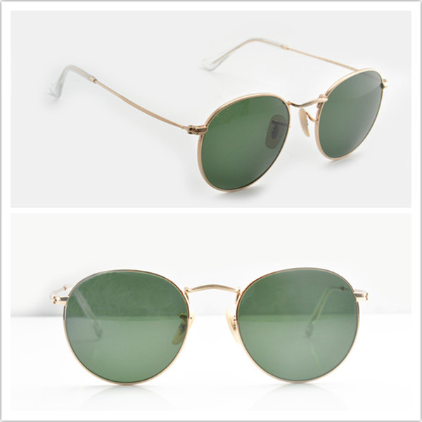 Rb3447 Ray Band Round Metal Sunglasses