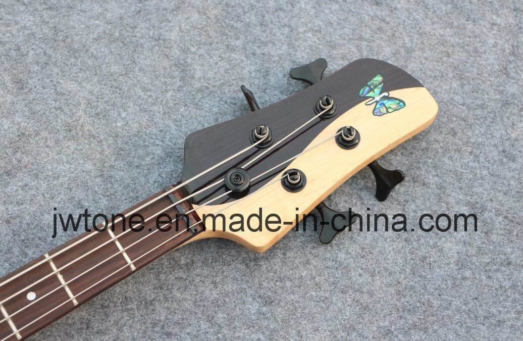 Quality Taiji Shadow 4 String Electric Bass Guitar