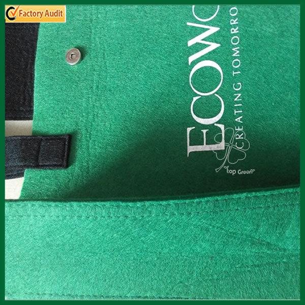 Fashion Green Gift Tote Bag Felt Shopping Bag (TP-SP535)