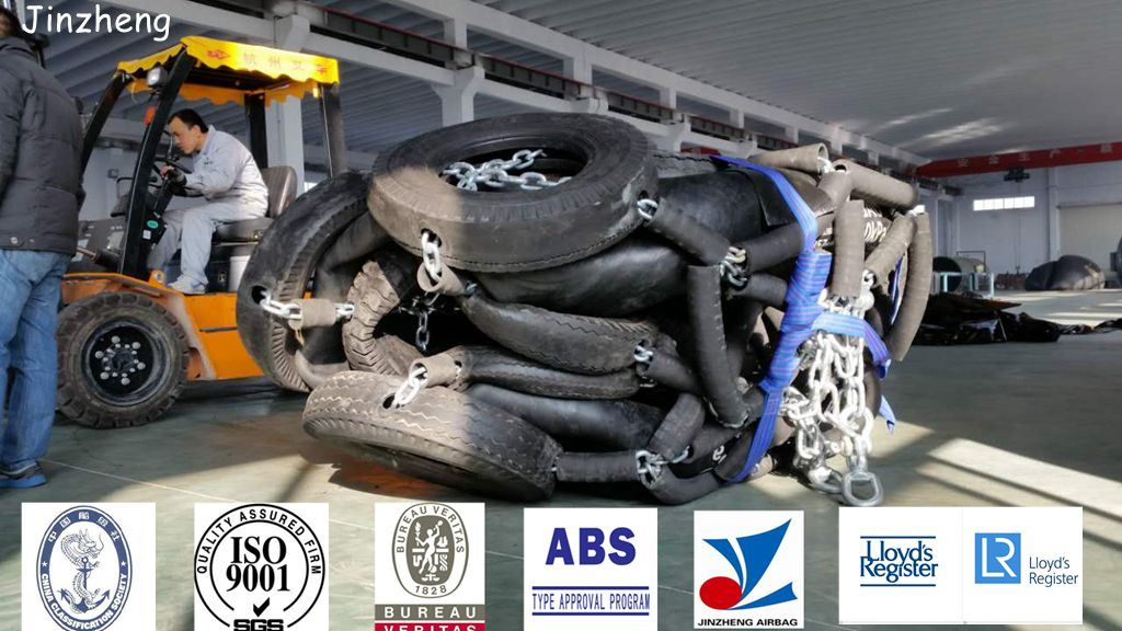 ABS Certification Molded Pneumatic Marine Rubber Fender for Boat