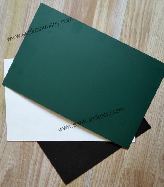 Green Chalkboard Surface Steel