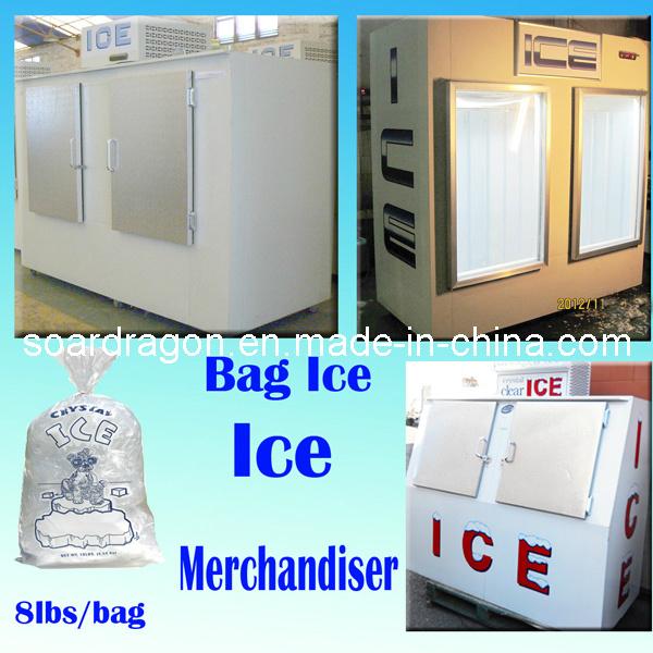 Ice Merchandiser for Indoor & Outdoor Using (WGL-850)