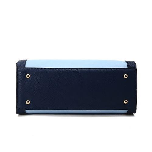 Women PU Fashion Evening Leather Hand Bag Designer Lady Handbag (MBNO040128)