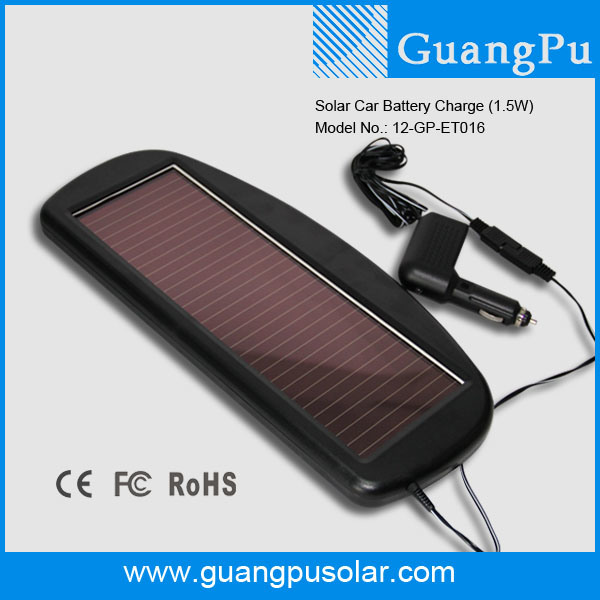 Solar Car Battery Trickle Charger China Solar Car