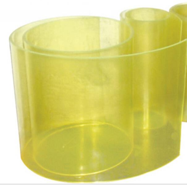 Transparent Yellow Polyurethane PU Sheet