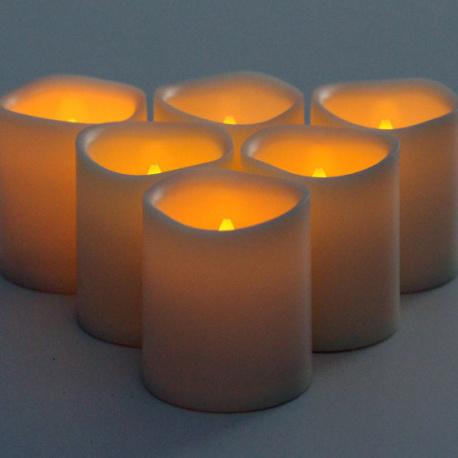 Hospitality Designs Wedding Holiday Using LED Candle