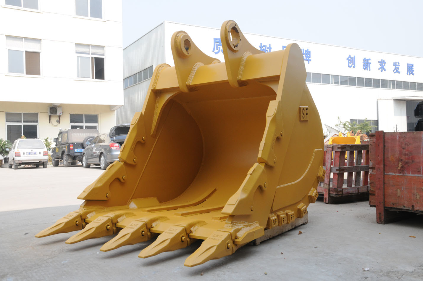 Excavator Bucket : China excavator bucket rock heavy for