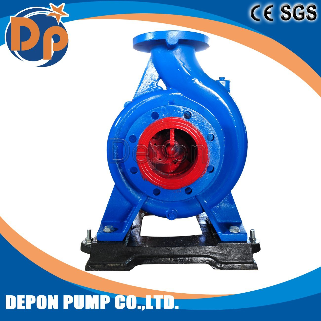 Horizontal End Suction Water Pump Farm Irrigation