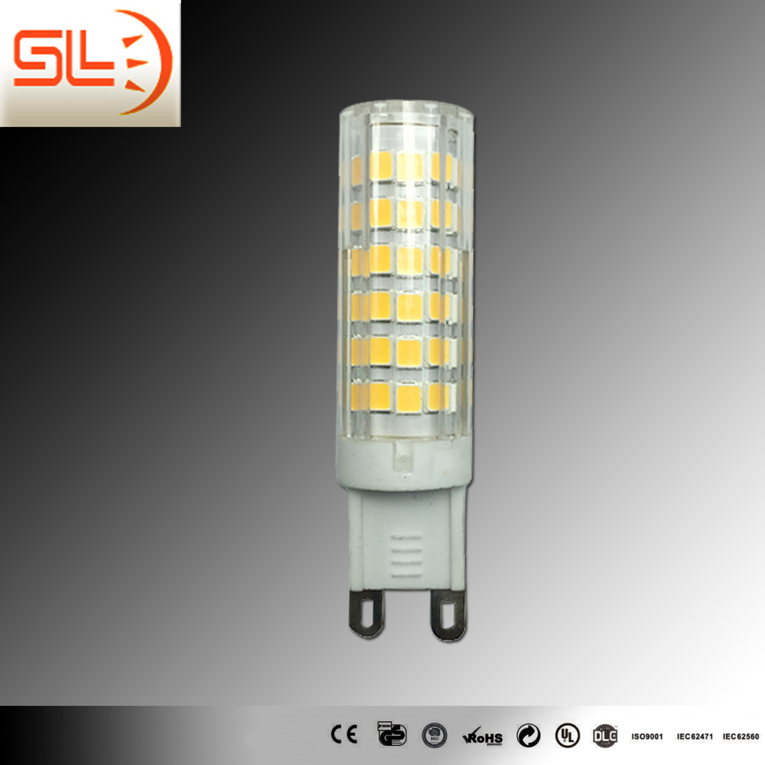 G9 SMD LED 6W Ceramic LED Light Bulb