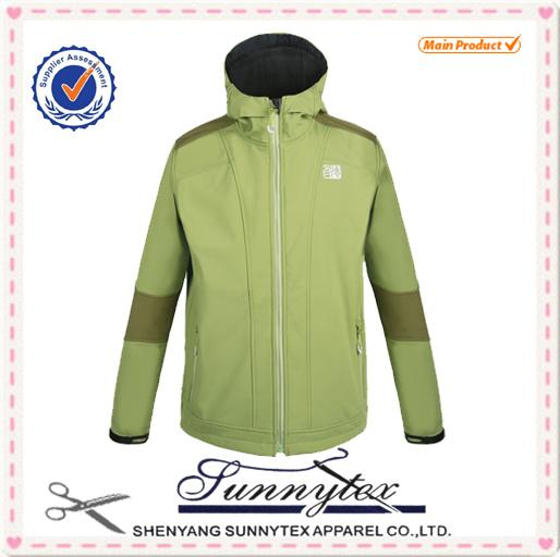 2016 Men Waterproof Softshell Jacket